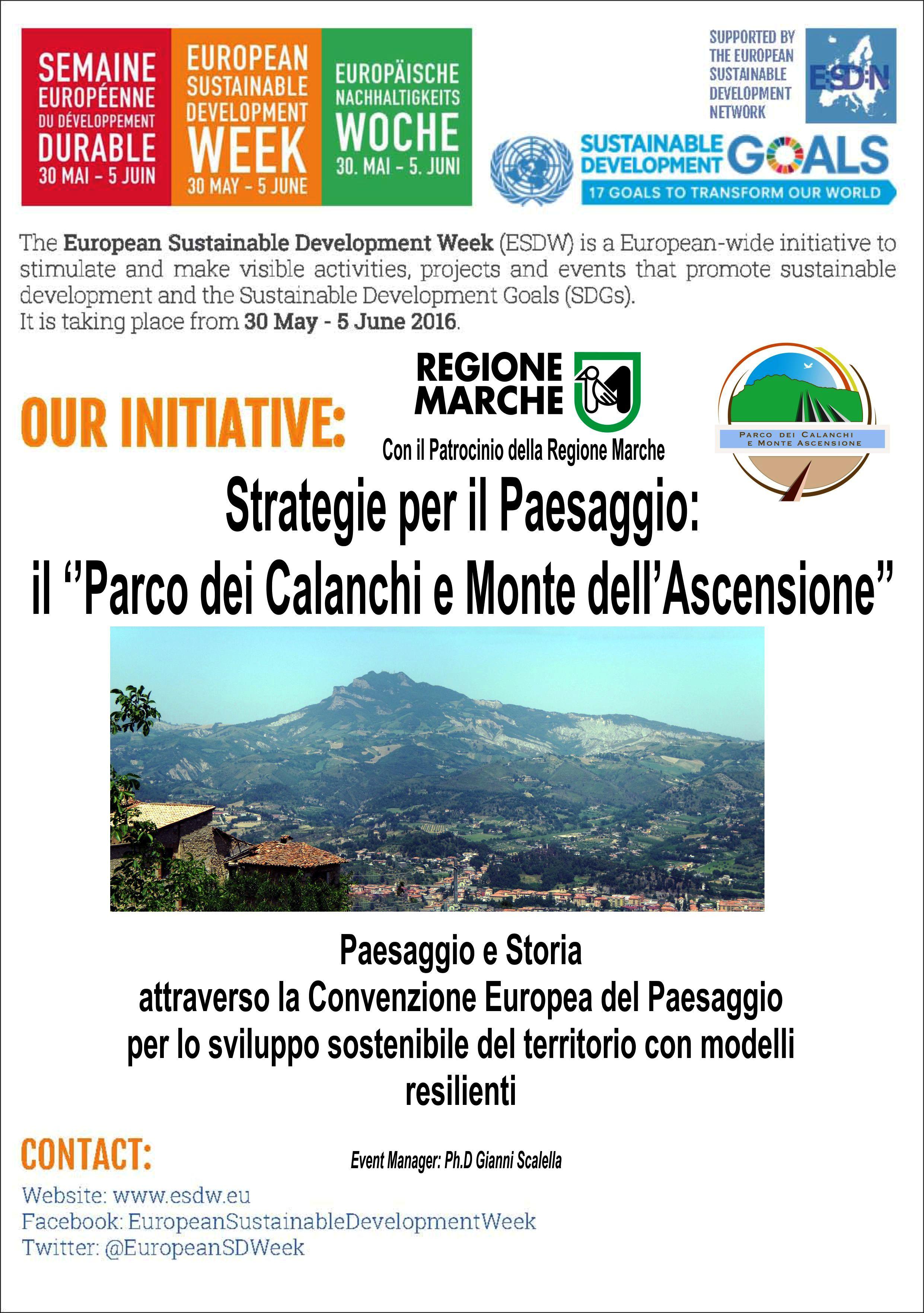 Parco dei Calanchi e Monte Ascensione - Settimana Europea Sviluppo Sostenibile